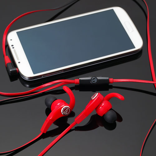Audio Technica 鐵三角 Inner-Ear Headsets for Smartphone