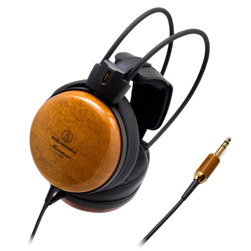 木制動圈耳筒 Wooden Headphones